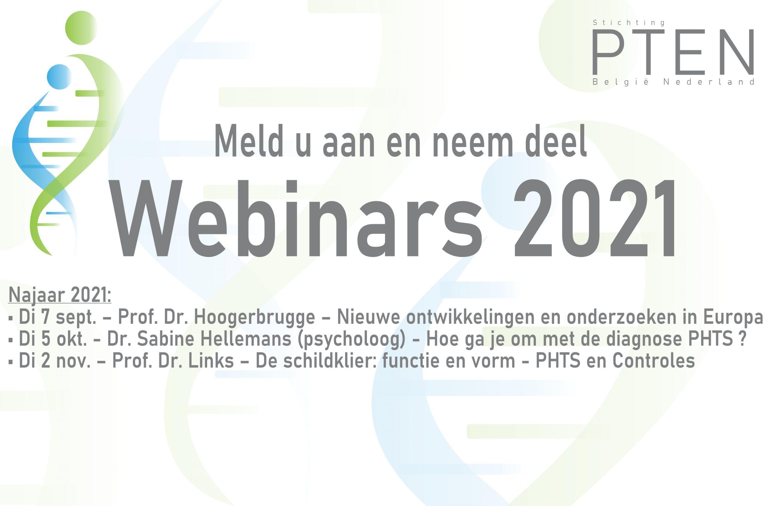 Webinars 2021